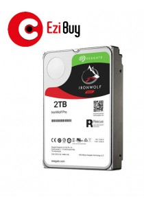 Seagate IronWolf PRO Enterprise NAS HDD 2TB 3.5-Inch Internal Hard Drive ST2000NE0025