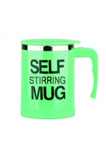 Self Stirring-mug Standard Steel (Green)