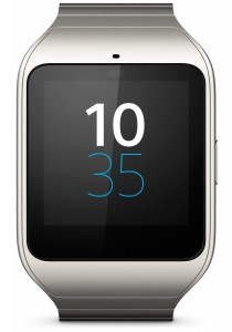 Original Sony Smart Watch 3 / SmartWatch 3 - SWR50 (Silver Metal)