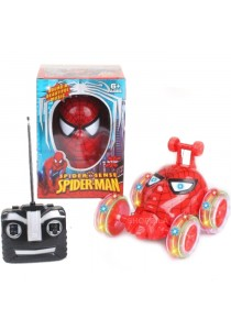 Spider-Man 360° Rotate Acrobatic Stunt RC Car for Boys