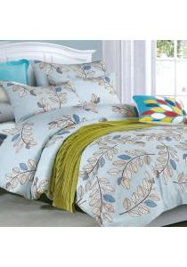 Cozzi 400TC Microfiber Plush Fitted Bedsheet set + Comforter SPINNEY - SUPER SINGLE