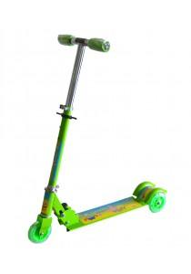 Kid's Adjustable Foldable Scooter - Spongebob Green