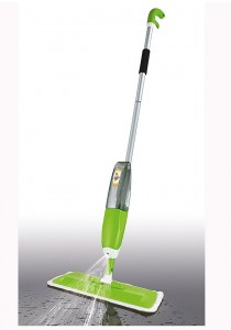Easy Mop Spray Mop with Microfiber Cloth Pad (Green)