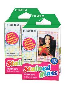Fujifilm Instax Mini Instant Film (Stained Glass) 20 Pcs