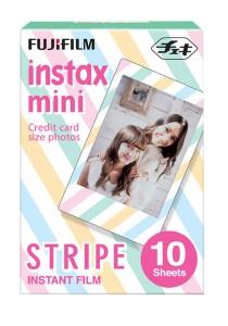 Fujifilm Instax Mini Instant Film (Stripe) 10 Pcs