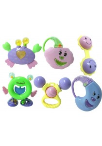 Baby Toy Rattles Toy (6 in 1 Set)