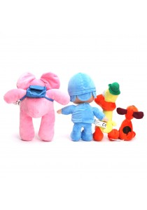 Full Set of 4 Pocoyo and Friends Plush Toy