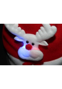 Christmas Hat with LED - C