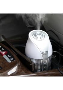 Portable Car Air Humidifier - White