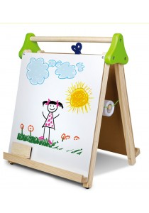 Wooden 3 in 1 Table Top Easel Drawing Set