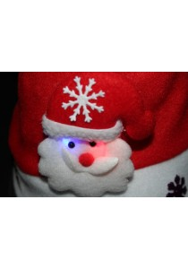 Christmas Hat with LED - B