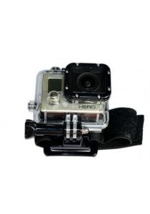 Adjustrable Wrist Strap Fasterner For Go Pro Series 1 - 4 (Black)GoPro Go Pro Hero 1 2 3 3+ 4 Camera (Black)