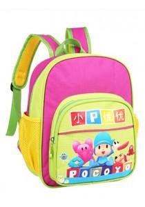 Pocoyo Cartoon School Bag / Backpack - Rose