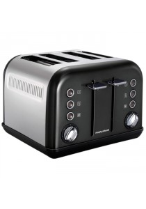 Morphy 242002 Richards Toaster 4-Slice Black