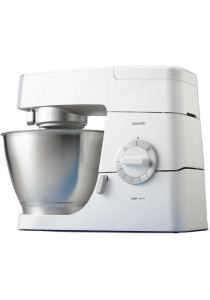 Kenwood KM336 Classic Chef Mixer 800W SS Bowl Coated Tools White