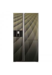 Hitachi R-M820AGP4MX DIA Fridge 3D G651L Inverter Ice Dispenser Door Diamond