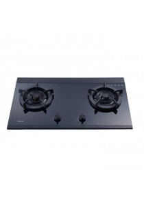 Rinnai RB-2MYG Glass Hob 2 Burners Black 5.3KW