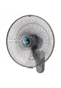 "Mitsubishi W16-RT-P CY-GY Wall Fan 16"" With Remote Grey"