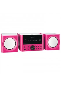 Sharp XLLS703BH (PK) Micro HIFI With Bluetooth Connection Pink