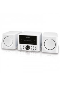 Sharp XLLS703BH (WH) Micro HIFI With Bluetooth Connection White