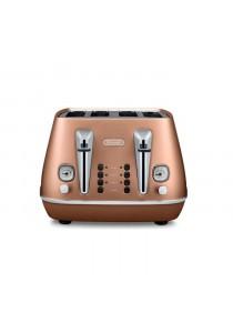 Delonghi CTI4003.CP Toaster 4 Slice Individual 2 Slice Operations