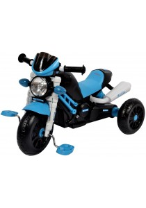 Sweet Heart Paris TC6333 Children Tricycle Motorcycle Design (Blue)