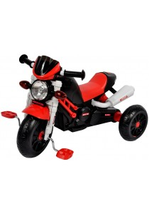 Sweet Heart Paris TC6333 Children Tricycle Motorcycle Design (Red)