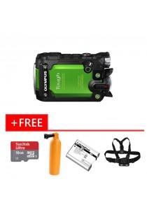Digital Camera Olympus TG-Tracker (Green)