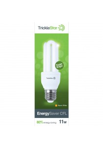 TrickleStar EnergySaver CFL 11W E27 220-240V 50-60Hz - 1 Unit