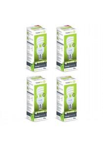 TrickleStar EnergySaver CFL 13W E27 220-240V 50-60Hz - 4 Units