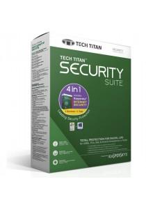 Tech Titan(Kaspersky) Internet Security 2017 - 1 Year - 3 Devices - 4 in 1