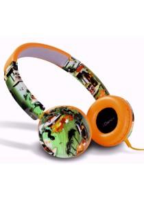 iDance TRACK 60 Street Design On Ear DJ Headphone with Mic