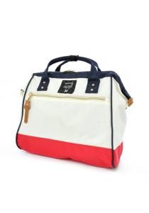 100% Authentic Anello (Regular) Polyester Shoulder Handbag - Tri Color