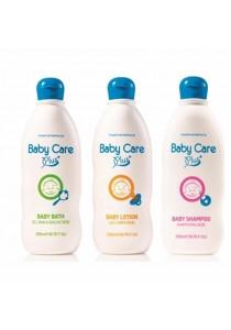 Tupperware Baby Care Plus set (Shampoo, Bath &Lotion - 3x200ml) - Original Natural Centre
