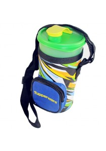 Tupperware Thirstquake Tumbler 900ml With Pouch (Green)