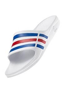 Adidas Duramo Slides- White