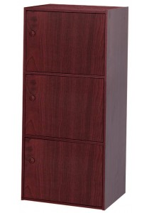 A-Tech 3 Doors Shelf US 3121 (12mm) (Mahogany)