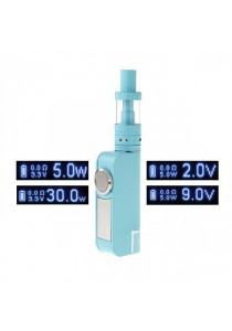 Usicig V8 30W 0.5ohm VV / VW / APV 2200mAh Vapor E-Cigarette Starter Kit (3ml) - Blue
