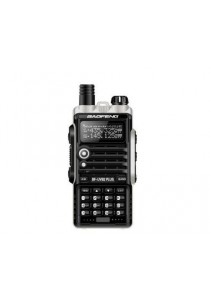 Baofeng UVB2 Plus 8W VHF/UHF Dual Band Two Way Radio Walkie Talkie (1 Pair) - Black