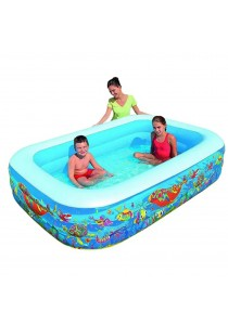 Bestway 2.29m Underwater World Themed Inflatable Pool