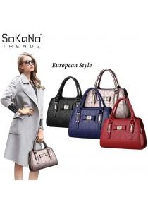 SoKaNo Trendz SKN822 European Style Premium Elegant Top Handle Tote Bag