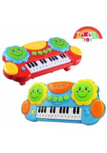 SOKANO TOY 2 in 1 Musical Toy (Piano and Hand drum)