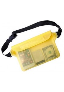 Universal Waterproof Waist Bag Pouch (Yellow)