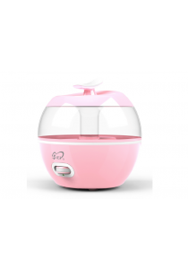 Apple Design Air Humidifier , Purifier , Aromatherapy 3.2L (PINK)