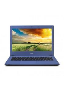 Acer Aspire E5-432-P7YM 14˝ (Pentium N3700/2GB/500GB/W10 Home) (Denim Blue)
