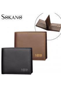 Pabojoe 820 Premium Men Wallet Genuine Cowhide Leather Wallet Horizontal