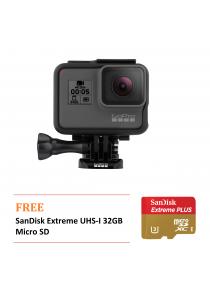 GoPro Hero 5 Black Free SanDisk Extreme UHS-I 32GB Micro SD