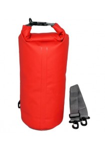 High Quality Water Proof Tube Bag Capacity 10L - 30 x 56cm (Red)