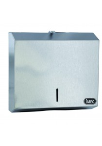 Stainless Steel Towel/Tissue Dispenser, IMEC V400 - V Fold Towel Dispenser