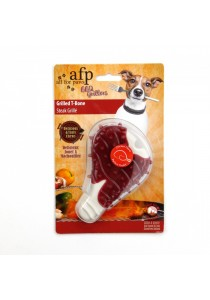 All for Paws Grilled T-Bone Pet Toys (Chicken)